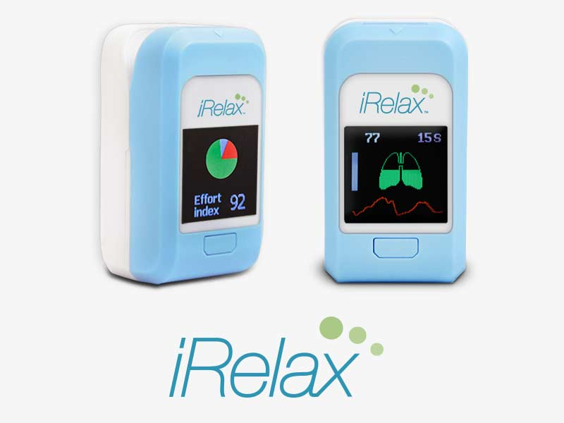 iRelax Biofeedback System - Heart Rate Variability for Stress Management & Relaxation
