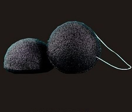 Natural Bamboo Charcoal Konjac Cleansing Sponge
