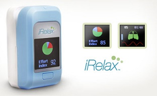 Handheld stress management/monitor biofeedback device