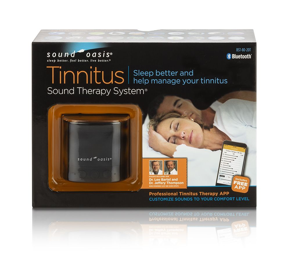 Bluetooth Tinnitus Sound Therapy System BST-80-20T