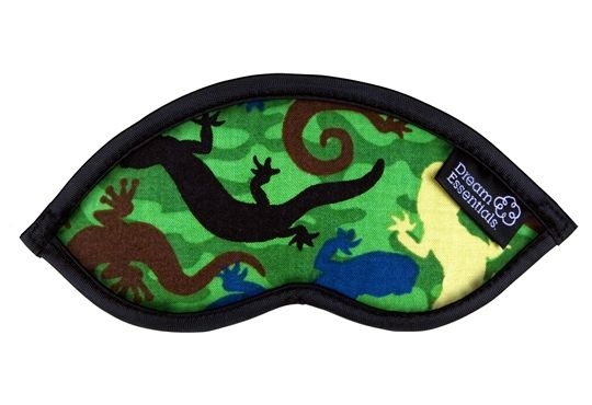 Hush Childrens Sleep Mask - Sleeping Gecko's