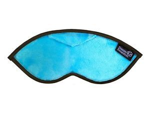 Opulence Plush Sleep Mask Baby Blue