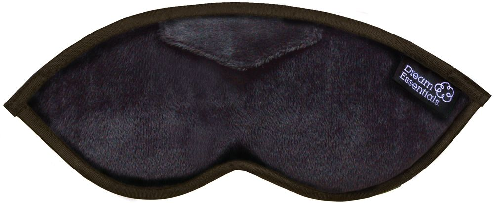 Opulence Plush Sleep Mask Black