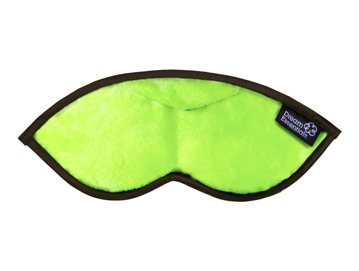 Opulence Plush Sleep Mask Lime