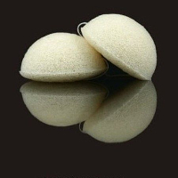 Pine Pollen Konjac Sponge 100% Natural for problem skin