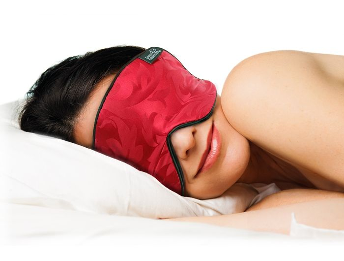 Silk Sleep Mask - Super Premium Eye Mask (Red)